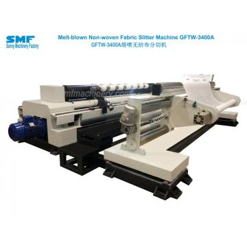 Medical Melt Blown Nonwoven Fabric Slitting Machine