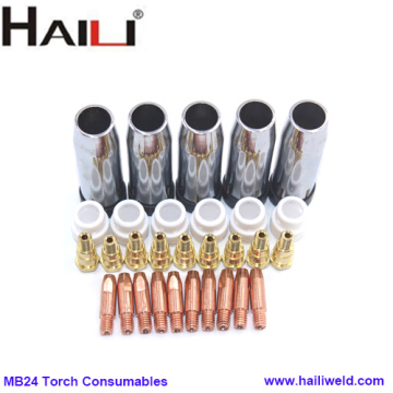 mig welding torch spares parts for MB24