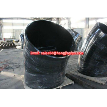 black steel welded elbow bevel end