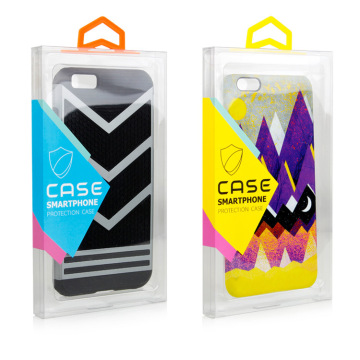 PET/PVC Mobile Phone Case Packaging Box