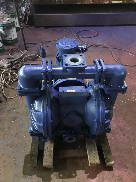 DBY explosion-proof lining fluorine electric diaphragm pump 3