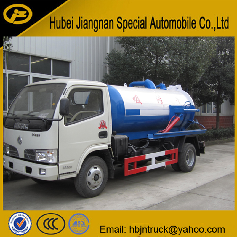 Vacuum Pump Suction Vehicle