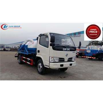 2019 New Cheap Dongfeng 3000litres liquid waste trucks