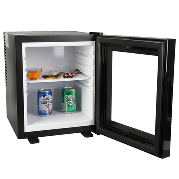 Cooling Thermoelectric Glass Door Compact Refrigerator