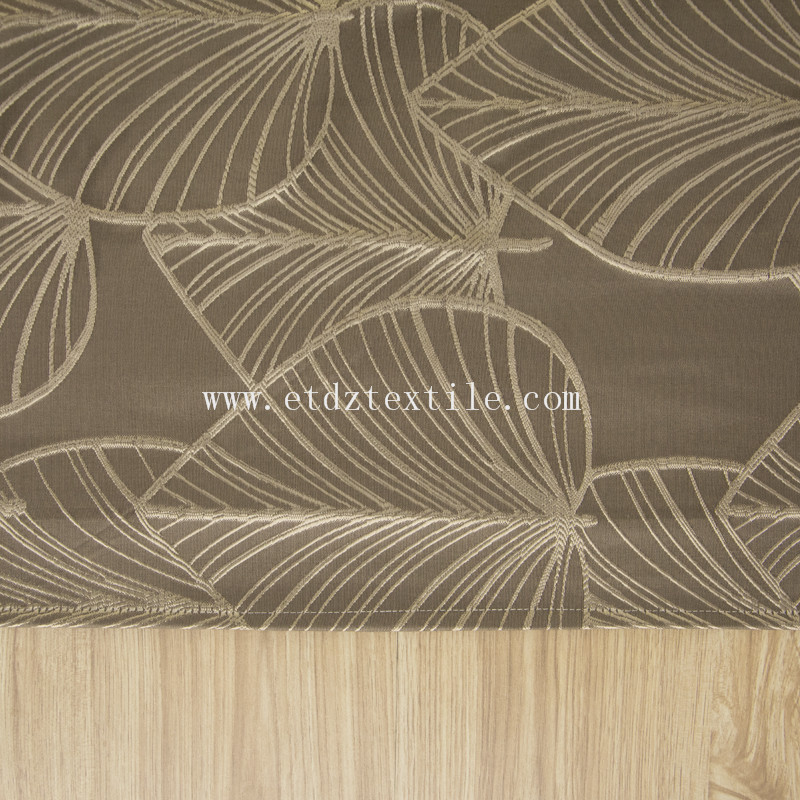 2016 New Shopping mall polyester curtain WZQ083