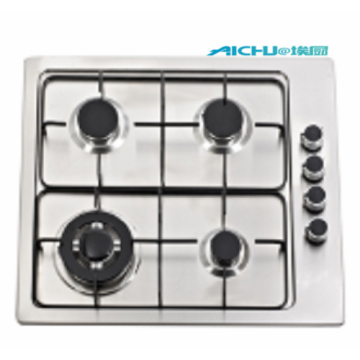 Built-in 4 Burners Stainless Steel Gas Hob