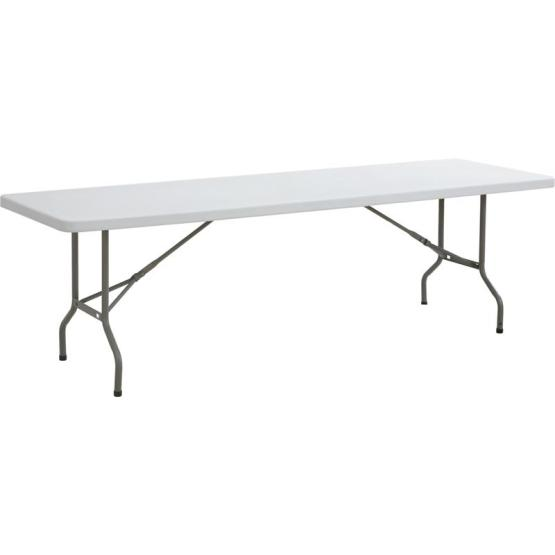 8FT Folding In-Half Table