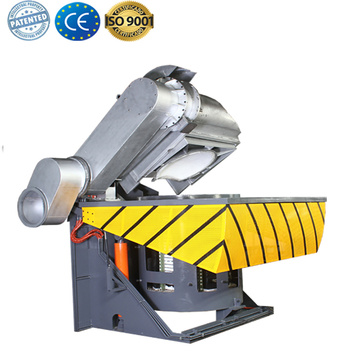 Induction copper aluminum melter furnace