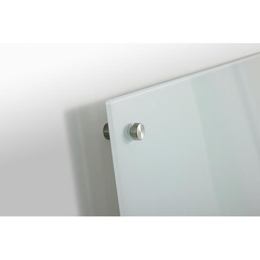 Tempering magnetic writing glass board for office