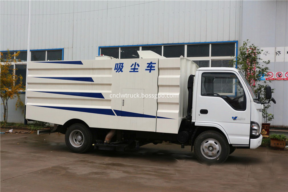 isuzu sweeper truck 3