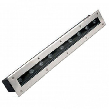 Single color Linear 9W LED Inground Light
