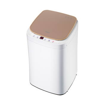 Gold 3KG Mini Fully Automatic Washing Machine