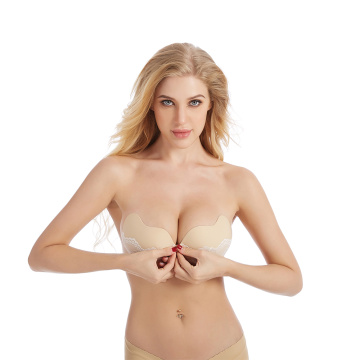 mango shaped lace invisible bra