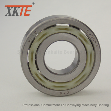 Nylon Material Cage Bearing For Mining Conveyor Idler