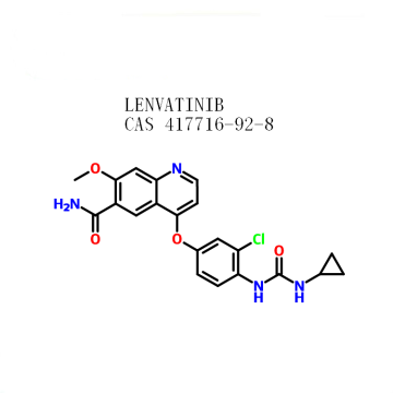 reasonable price Lenvatinib (E7080)   CAS 417716-92-8