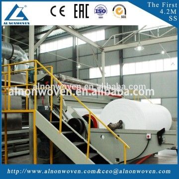 1600mm,2400mm,3200mm,4200mm S/SS/SSS/SMS Fabric Production Line
