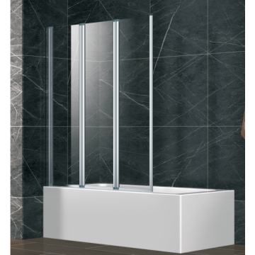 Folding Glass Shower Bathtub Screen