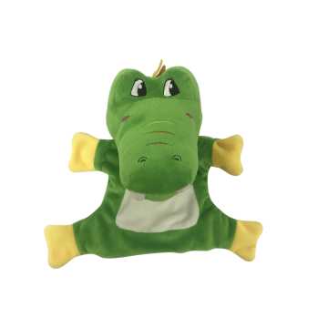 Hand Puppet Crocodile Green