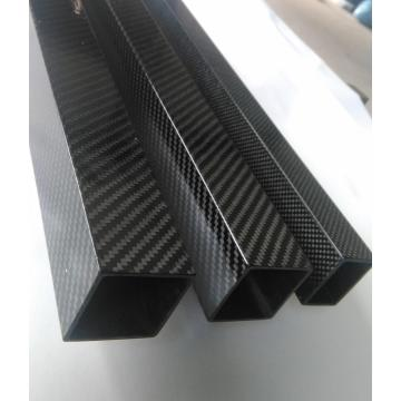 3K twill plain weave carbon fiber square tube