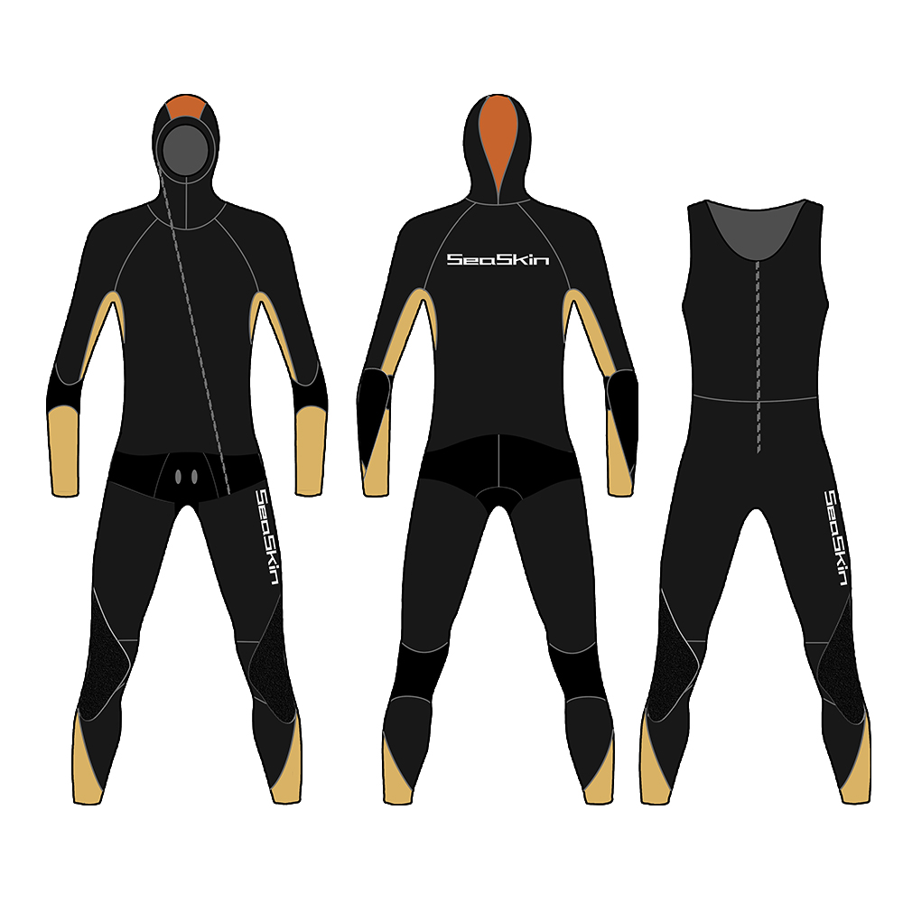 Wetsuit Men  with hooded