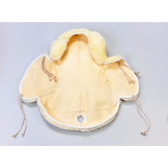 Horse riding saddle seat equestrian sheepskin cover