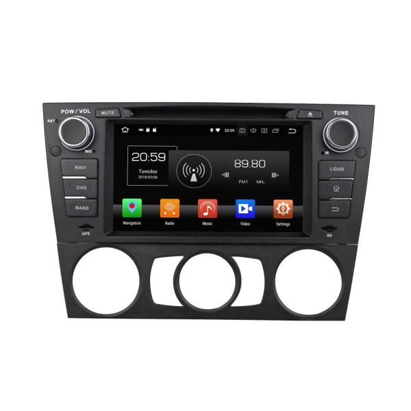 Single din car entertainment for E90/E91