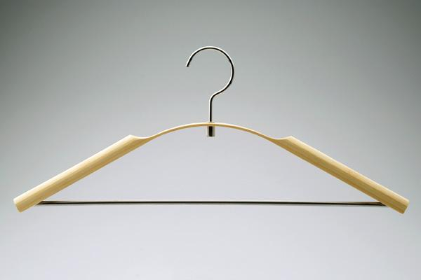 Shrinkable Bamboo Clothes Hanger