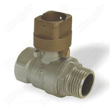 Brass Ball Valves With Locking Cap