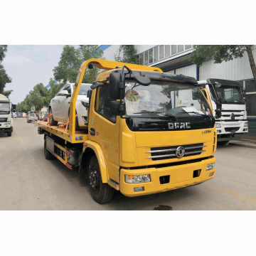 2019 New Dongfeng D8 6.2m Flatbed Towing Truck