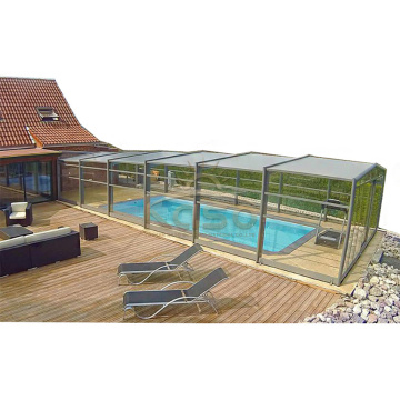 Plastic Swimming Pool Cover Patio Screen Enclosure
