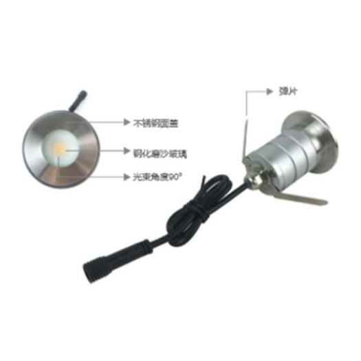 led inground up lights
