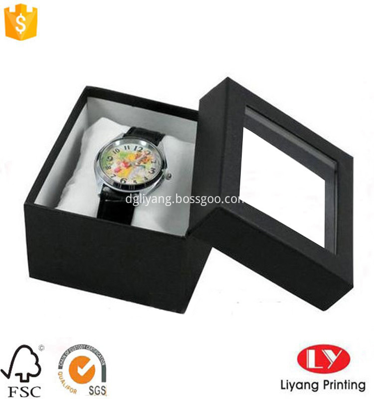 watch box with pillow inside