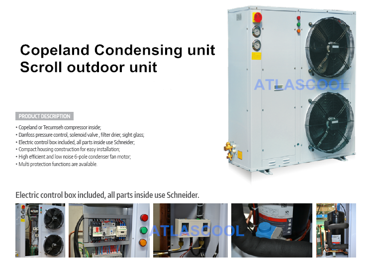 copeland outdoor condensing unit
