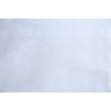 100% Polyester Bed Sheet White Embossed Fabrics