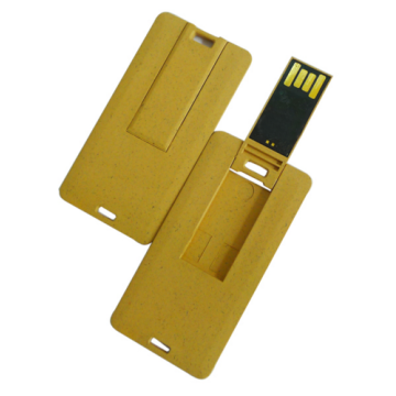 Custom Biodegradable mini credit card USB Flash drives