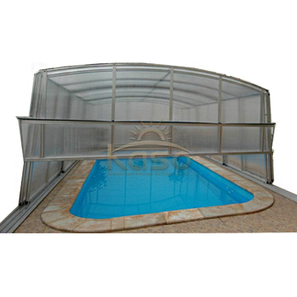 Hard Enclosure Hexagon Swimming Pool Cover