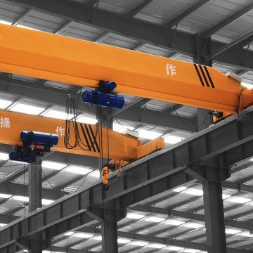 10ton single girder stockyard use overhead crane