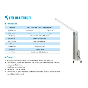 UVC Ultraviolet LED strip 254 NM germicidal sterilizer