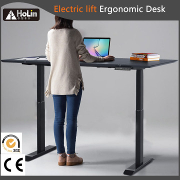 Electric Lift Height Adjustable Sit Stand Executive Desk