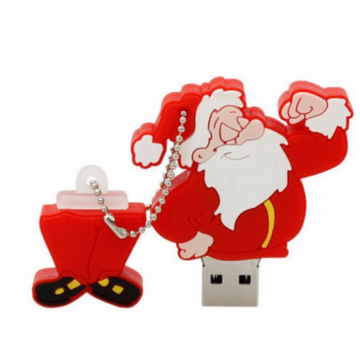 100% real capacity Christmas Gift USB Flash Drive