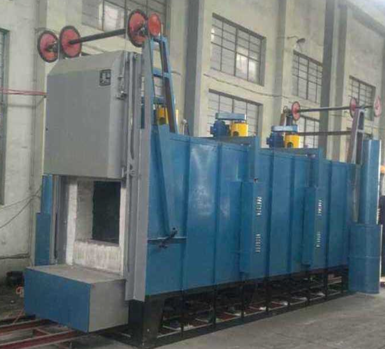 Medium temperature car tempering furnace debugging