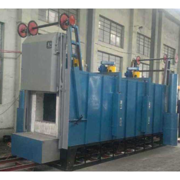 Medium temperature car tempering furnace
