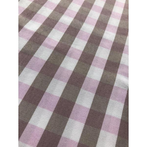 polyester yarn dyed check design fabric