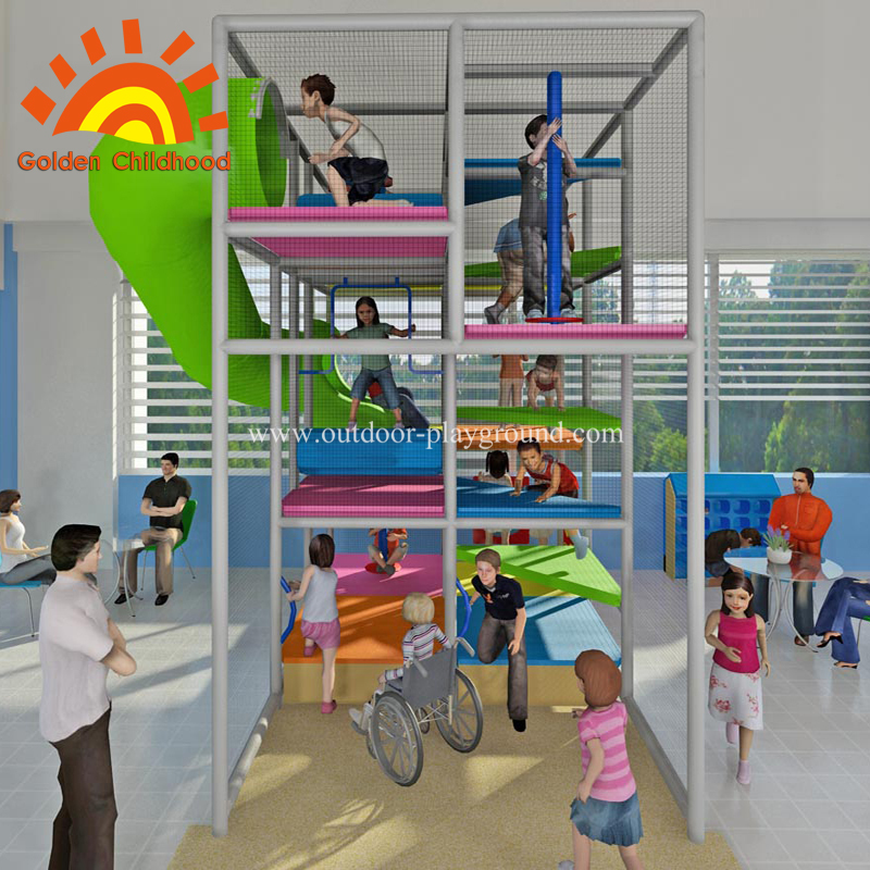 indoor playground various game equipment