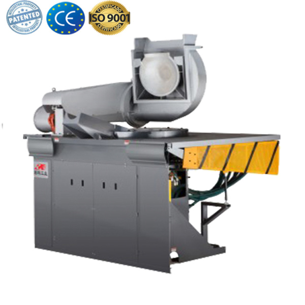 Crucible and furnace induction steel melting equipment