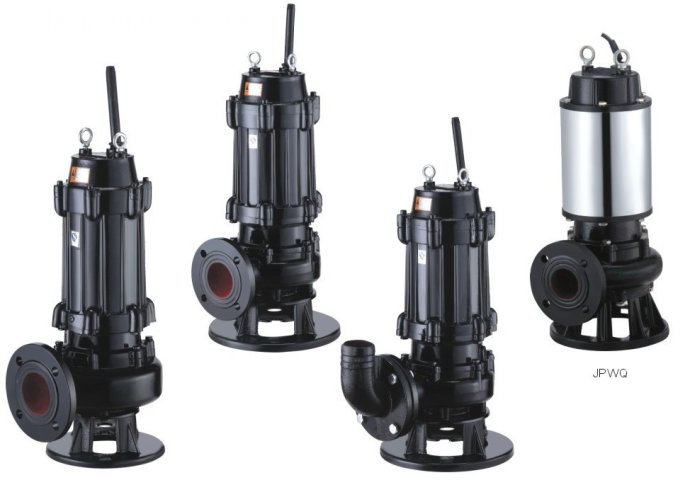 WQ type diving non-blocking sewage pump 3