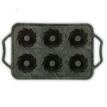 Sturdy Handle Marbling Silicone Chocolate Molds Candy Molds