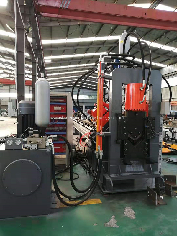 YJX-2020 Angle steel punching line
