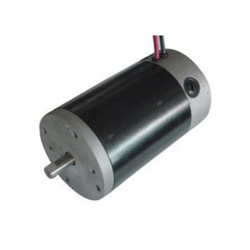 Low voltage 100mm brushed DC motors rugged for wheelchairs golf carts