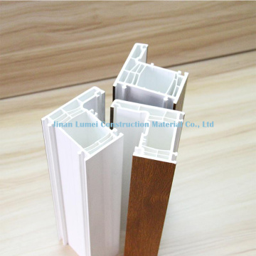 White UPVC Profiles For Doors